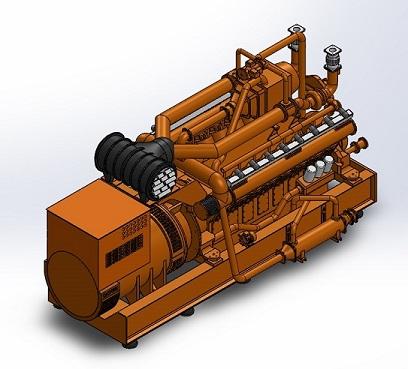 طراحی مدل ماکتی موتور مولد انرژی