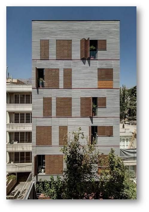 دانلود پاورپوینت بررسی ساختمان مسکونی اندرزگو (نمونه مشابه مسکونی)