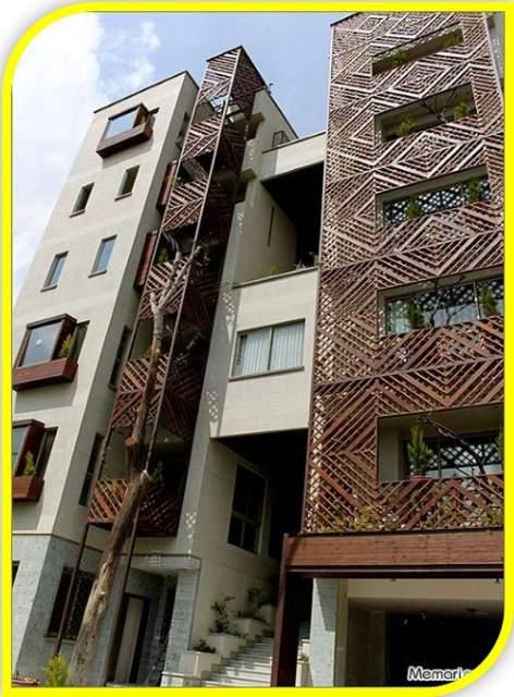 دانلود پاورپوینت بررسی مجتمع مسکونی باغ ونک تهران (نمونه مشابه مسکونی)