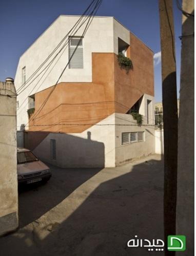 دانلود پاورپوینت طراحی نمای خانه بید آباد هماهنگ با بافت تاریخی(نمونه مشابه مسکونی)
