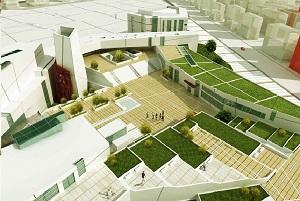 نقشه های کامل طراحی معماری نمایشگاه بین المللی