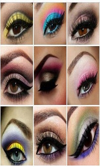 برنامه آرایش زنانه (چشم , ابرو) اندرویدی فوق العاده جالب وهدیه ای استثنایی و طلایی وبسیار مهیج جهت خانم های زیبا و خوش سلیقه