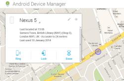 نرم افزار پیدا کردن گوشی از راه دور،پاک کردن اطلاعات و رمز گذاشتن روی گوشی از راه دور